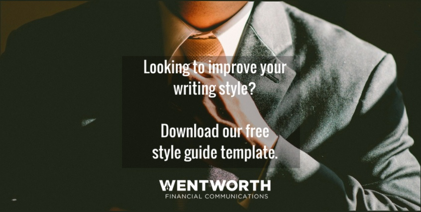 blog writing style guide