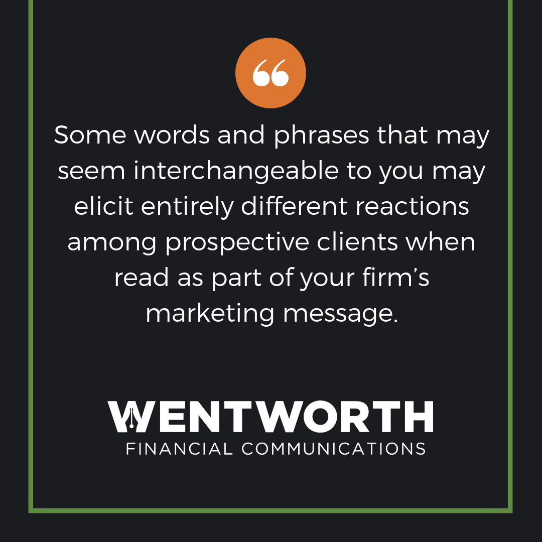 Part 2: Attention Financial Advisors—Your Marketing Messaging All Sounds the Same