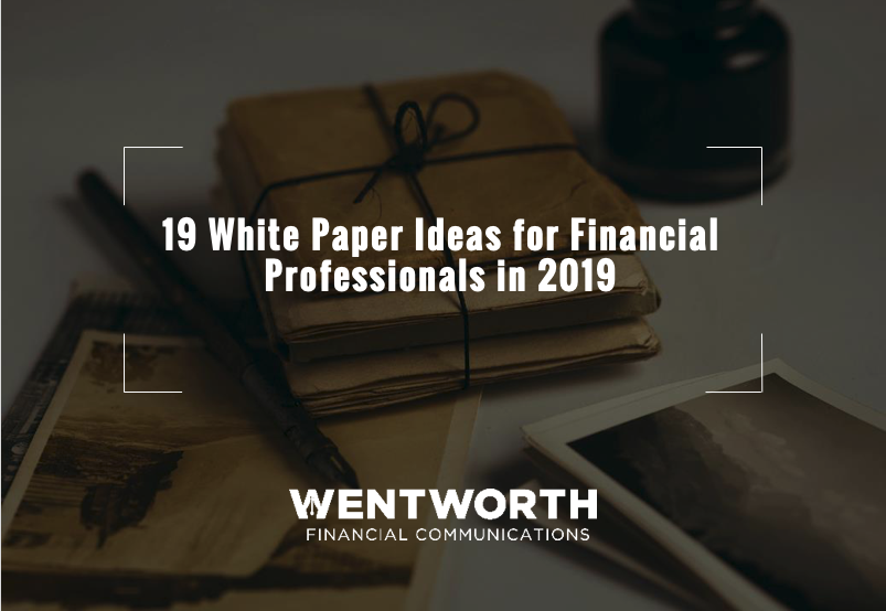 3 White Paper Ideas for Investment Banking and Private Equity